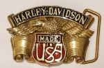Harley Davidson Solid Brass Belt Buckle. Code HD-79
